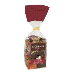 Assortiment 50 Napolitains Chocolat Noir Monbana