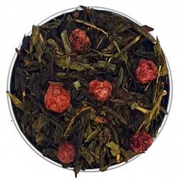 Thé vert, Groseille en folie, Essentiel thé, 100g