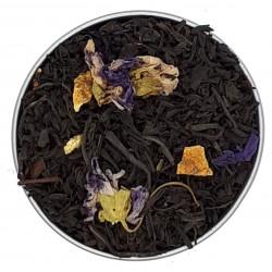 Thé noir, Earl Grey Fleurs Mauves Bio, Christine Dattner, 100g